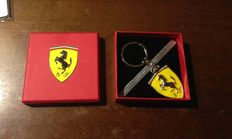7 Ferrari key rings with Ferrari Logo