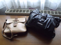 Lancaster – Lot of 2 shoulder bags