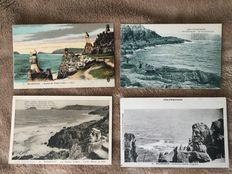 Very nice lot of around 470 postcards from old Brittany and various other places in France. Some have been animated and circulated.
