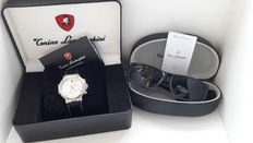 Setof 2 - Tonino Lamborghini sunglasses Race C3 -  Tonino Lamborghini men's wristwatch – Mint condition and Unworn.