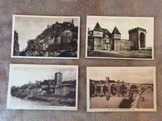 France - Lot of about 375 cards Gironde - Bordeaux and various cities and villages, Dordogne, Lot, Landes and surroundings some animated