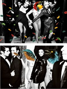 VinZ Feel Free - Collaboration with Mario Testino for Vogue Spain (2012)