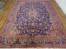 Wonderfully beautiful Persian carpet, Kashmar/Iran, 387 x 290 cm, end of the 20th century. Top condition - top quality