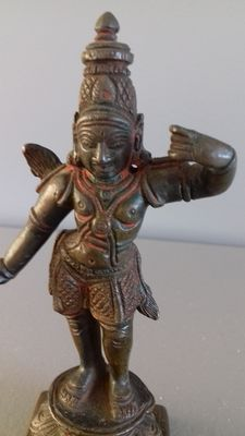 Statuette of a divinity – Sir Lanka / South India – first half of the 20th century
