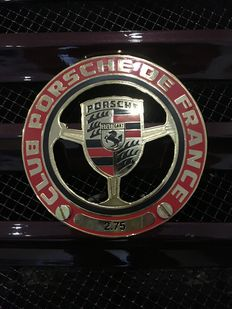 Porsche Classic Grill Badge Club Porsche De France