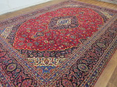 Dreamy beautiful Persian carpet, Kashan/Iran, 430 x 300 cm, end of the 20th century, top condition - top quality