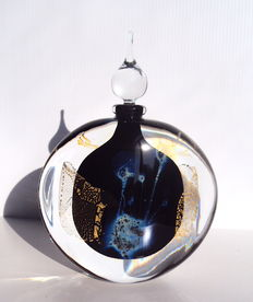 E.LAURENT - Large and massive flask one of a kind creation (signed)