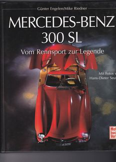 "MERCEDES BENZ, book of Günter Engelen/Michael Riedner ""Vom Rennsport zur Legend"""