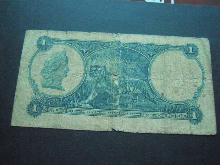 World - lot with 22 different banknotes - a.o. Portugal, Straits Settlements, Malawi, etc