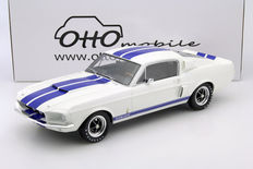 Otto Mobile - Scale: 1/12 - Ford Mustang Shelby GT500  1967 - White / Blue