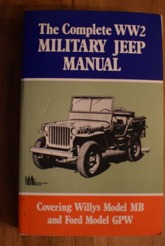 JEEP willys  WW2 military jeep manual.