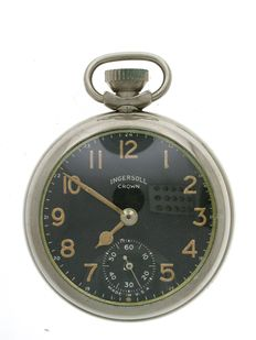 Ingersoll Pin Lever Pocket Watch