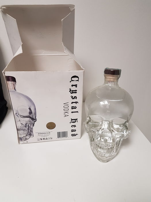 Vodka Cristal Head - 1.75 liter & 40%