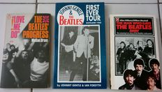 The Beatles - Lot of 3 books: Love Me Do - The Beatles'  Progress, Johnny Gentle and the Beatles: First Ever Tour - Scotland 1960, The Man who gave The Beatles away