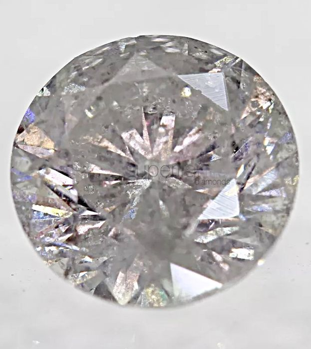 F I1 1,32 ct, Brillante Rotondo, Diamante Naturale 6,92 mm VG VG VG