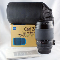 Excellent! Boxed Contax Zeiss N Mount Lens Vario-Sonnar T* 70-300mm F4-5.6 in fully working condition
