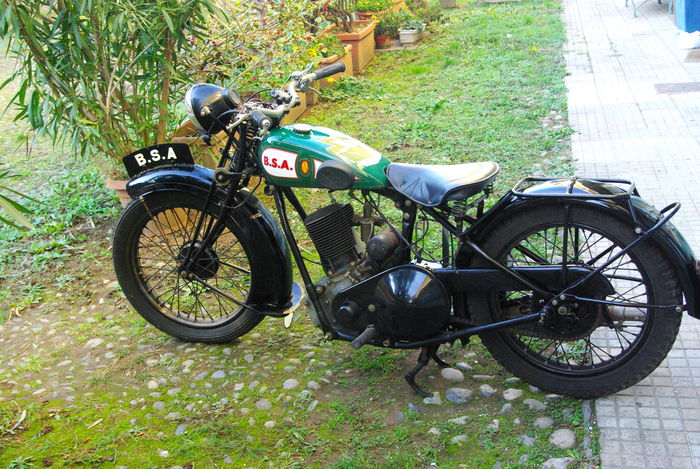 BSA - 500 Sloper - 500 cc - 1934