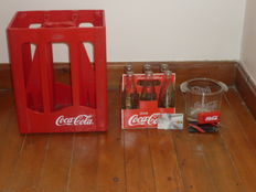Lot of Coke; Various items - bottles - wine coolers - ect
