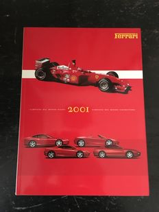 The official Ferrari yearbook; volume 2001