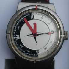 AUDI COMPASS SWISS men's wristwatch 20th century