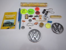 Large lot VW Air-cooled collector's objects