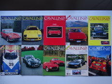 "CAVALLINO - The ""Ferrari"" Enthousiast's magazine - Mixed lot of 10 issues between 1989 and 1994"