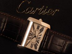 Cartier Divan - women´s wristwatch - around 2005