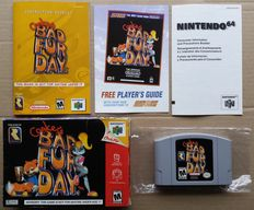 Nintendo 64: Conker's Bad Fur Day (US import) complete