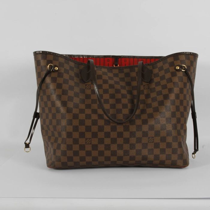 numerous in variety moderate price limited price Louis Vuitton – Neverfull canvas Damier Ebene - Catawiki