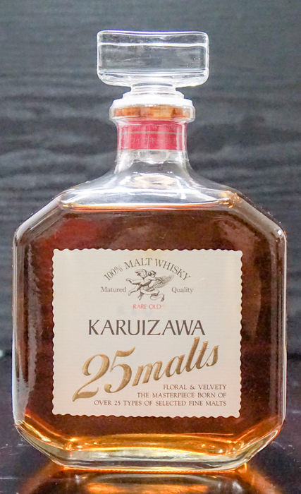 Karuizawa 25 malts Whisky 720ml