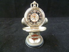 Franklin Mint - Harley Davidson pocket watch with stand
