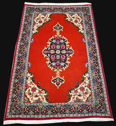 No reserve - great opportunity: Gorgeous Tabriz 50 Raj Persian carpet – good as new – with certificate.