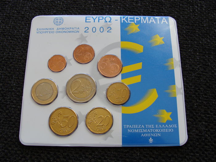 Greece – Year pack 2002 (KNM edition)
