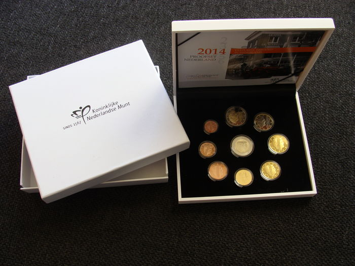 The Netherlands – Year pack (Proof) 2014