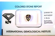 Colour-changing sapphire – 1.76 ct
