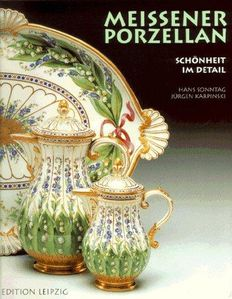 "3 picture books ""Meissener Porzellan"" and porcelain auctions, 1989 + 1997 + 1998"