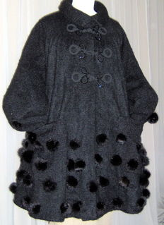 """""""Rodica M."""" by Rodica Muth - Knitted Paletot Coat"""