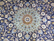 Dreamily beautiful Persian carpet, Kashmar/Iran, 360 x 271 cm, end of the 20th century. Top condition - top quality