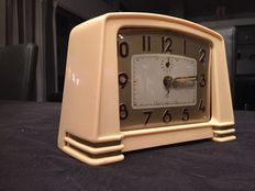 Jaz Art Deco clock / alarm clock - Approx. 1940/1950, France