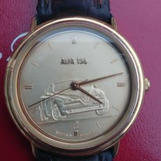 Alfa 156 wristwatch with gilded dial ca. this century