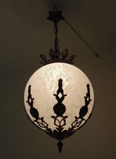 Antique Hall lamp - Italy - 1880-1900