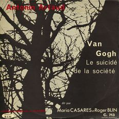 Antonin Artaud Van Gogh 1958 - By André Almuro - BAM C 713 French LP NM