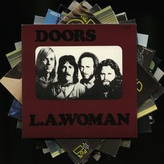 Fantastic Ten (10!) Album Lot By The Doors Including Their First Album, L.A. Woman, The Soft Parade, Waiting For The Sun, Morrison Hotel, Alive She Cried!, Strange Days, Absolutely Live, Other Voices And Weird Scenes..