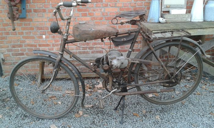 Jlo Swedish Elcin Help Motor Bicycle 60 Cc 1930 40