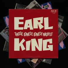 A foursome of rare blues albums by Albert King and Earl King incl. 'Those lonely lonely nights' and more