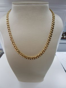 18kt Yellow Gold Men's Necklace