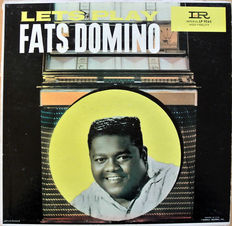 2 ORIGINAL Fats Domino albums from the fifties and sixties. USA and NL pressing