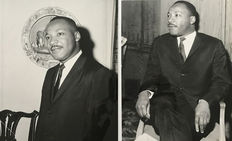 Harris Ewing - Globe Photos - Martin Luther King - London - 1964