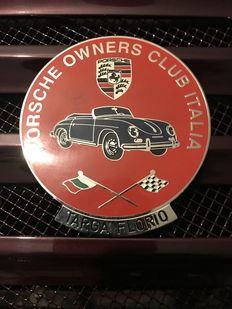 Porsche Classic Grill Badge Owner's Club italia