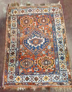 Hand knotted Persian rug - 160 cm x 110 cm - Iran - 20th century